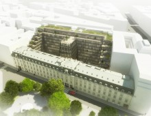 Immeuble de bureaux, Paris 8